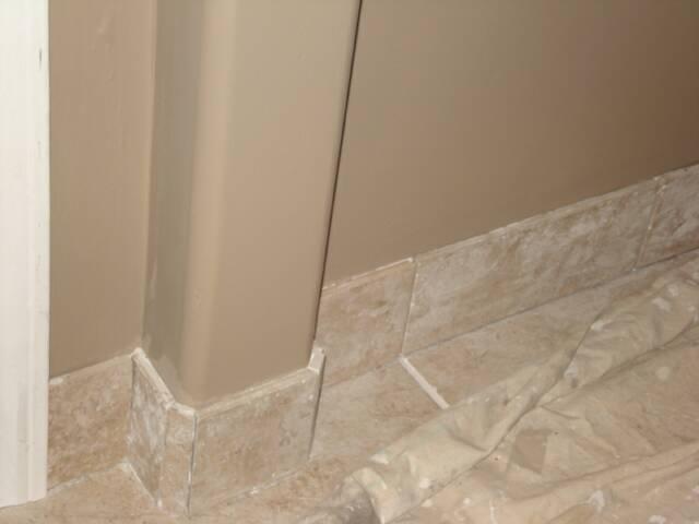 Faux Travertine Ceramic Tile