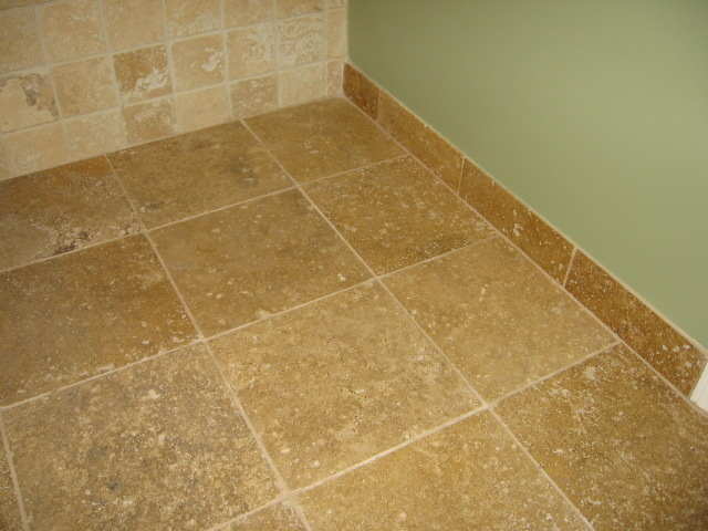 Bathroom Floor Tile Baseboard : Tile stone flooring